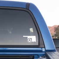 Oklahoma City Oklahoma Home Sticker for Cars and Trucks