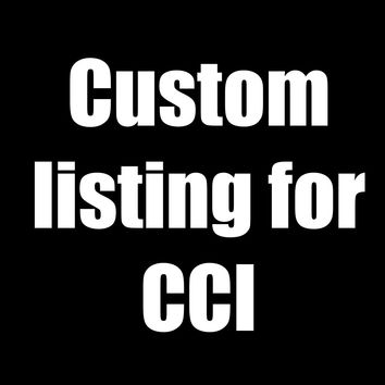 Custom Listing for CCI