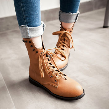 Studded Ankle Boots High Heels Women Shoes Fall|Winter 5161