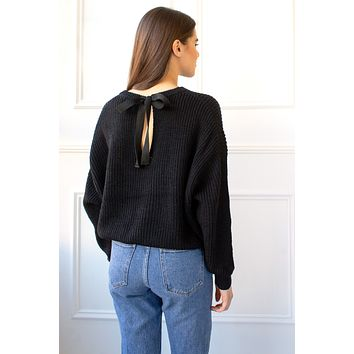 Simone Sweater - black