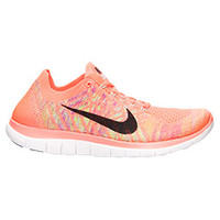 Women's Nike Free 4.0 Flyknit Running Shoes | Finish Line