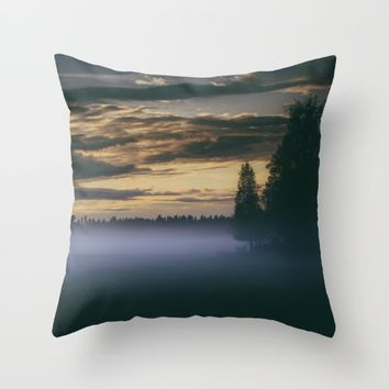 Turning point Throw Pillow by HappyMelvin | Society6