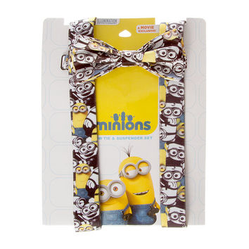 Despicable Me Minions Bow Tie & Suspender Set
