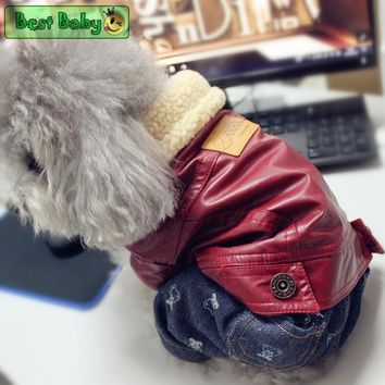 Cool Waterproof Pet Clothes Snow Winter S XXL Puppy Animal Dogs Suit Overalls For Small Breeds Cat Chihuahua Bulldog Dachshund