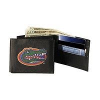 University of Florida Gators Bifold Leather Wallet (Blue)