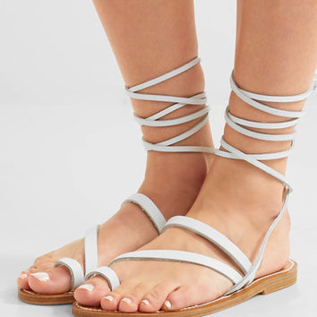 K Jacques St Tropez - Ellada leather sandals