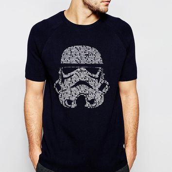 Star Wars Darth Vader 2017 Summer Fashion Streetwear 100% Cotton High Quality T-Shir Men Hip Hop Style Tops Tees brand clothing