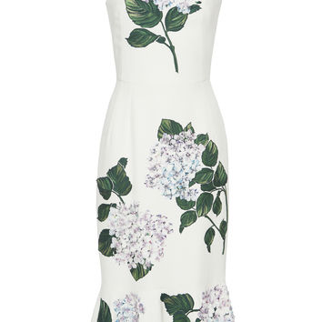 Floral-Appliqued Dress | Moda Operandi