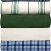 Portuguese Cotton Flannel Sheet- Blanket