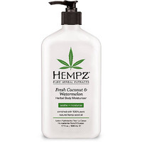 Online Only Fresh Coconut And Watermelon Herbal Body Moisturizer