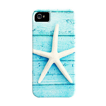 Starfish iPhone Case  star fish iphone 5 case  by CarolynCochrane