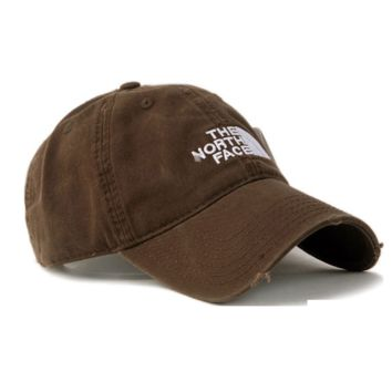 The North Face Brown Cotton Baseball Golf Cap Hat