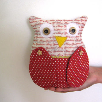 Christmas Owl Ornaments, Ornies Bowl Fillers, Party Favors Decorations Home Decor, Christmas decoration, toys, ornament, gift