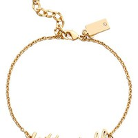 kate spade new york 'say yes - better half' charm bracelet | Nordstrom