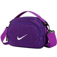 Nike Casual Fashion Leather Purse Waist Bag Single-Shoulder Bag Crossbody