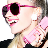 Wildfox Couture Skipper Sunglasses Barbie Pink One