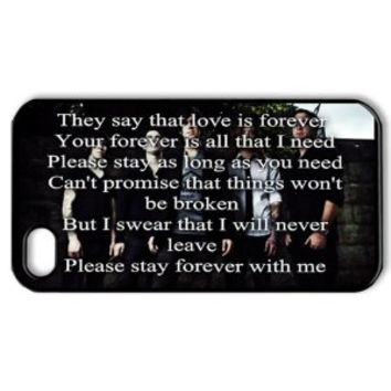 ByHeart SWS Sleeping with Sirens Kellin Quinn Hard Back Case Shell Cover Skin for Apple iPhone 4 and 4S - 1 Pack - Retail Packaging - 6116