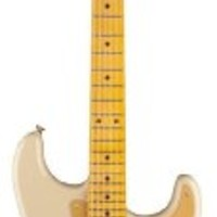 Fender 60th Anniversary Classic Player 50's Strat-Desert Sand Solid-Body Electric Guitar