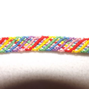 Thin Zig Zag Friendship Bracelet