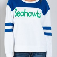 Junk Food Clothing - NFL Seattle Seahawks Sweatshirt - NFL - Collections - Womens