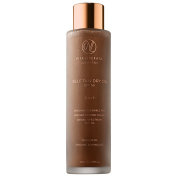 Sephora: Vita Liberata : Self Tan Dry Oil SPF 50 : bronzer-self-tanner-bath-body