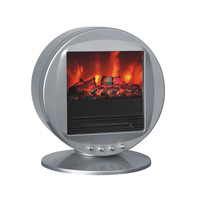 Toasty Fireplace Heater - Charcoal