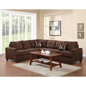 Bobkona Leo Right Hand Facing Sectional