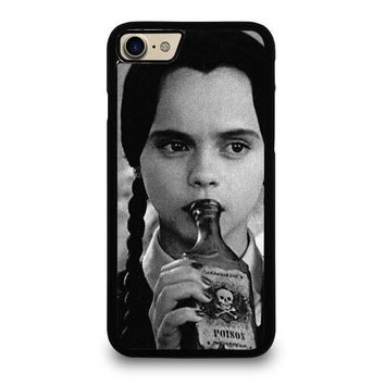 WEDNESDAY ADDAMS iPhone 4/4S 5/5S/SE 5C 6/6S 7 8 Plus X Case