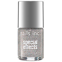 NAILS INC. Special Effects Electric Lane Holographic Glitter Top Coat (0.33 oz Electric Lane Holographic Glitter Top Coat)