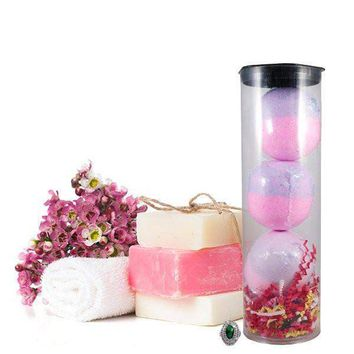Bombshell 3 Pack Jewelry Bath Bombs Tube