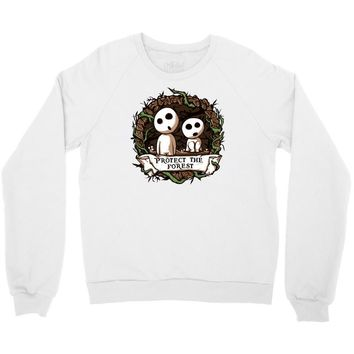 protect the forest Crewneck Sweatshirt