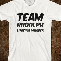 TEAM RUDOLPH LIFETIME MEMBER T SHIRT