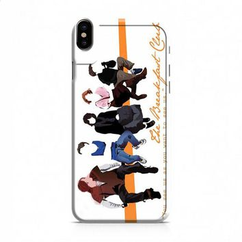 BREAKFAST CLUB IMAGE OLD SERIES iPhone X case