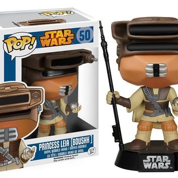 Boushh Princess Leia Star Wars Funko Pop! Vinyl Figure #50