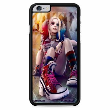 Harley Quinn And Joker Love Art iPhone 6 Plus / 6s Plus Case