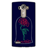 Beauty And The Beast Rose Phonecase Cover Case For LG G3 LG G4