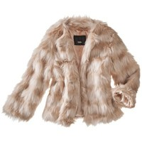 Mossimo® Women's Faux Fur Coat -Light Pink
