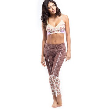 Calafia Surf Leggings - Rose Petal
