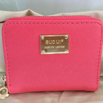 NEW Stylish Cute Square-Shaped Leather Wallet