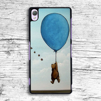 Vintage Winnie the Pooh balloon Sony Xperia Case, iPhone 4s 5s 5c 6s Plus Cases, iPod Touch 4 5 6 case, samsung case, HTC case, LG case, Nexus case, iPad cases