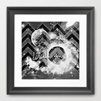 forever young Framed Art Print by Haroulita