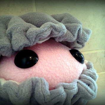 Giant Pearl the baby clam plush