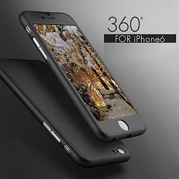 Ultra Thin 360 Protection + Nano Glass Screen Protector for iPhone 6 7 6S 7 Plus Mobile Phone