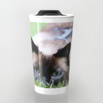 Splendor In The Grass Travel Mug by Theresa Campbell D'August Art