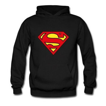 Superman sweater,hooded sweater for men and women,lovers sweater = 1946784580