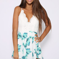 On Balance Playsuit - Print