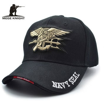 Mege Branded Men Baseball Cap Spring Summer Dad Hat Polo Cap Patch Embriodery U.S. Marines Kpop Pesca Touca Gorras Hombre