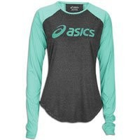 Asics Women's Ryleigh LS Tee, Spearmint, Large