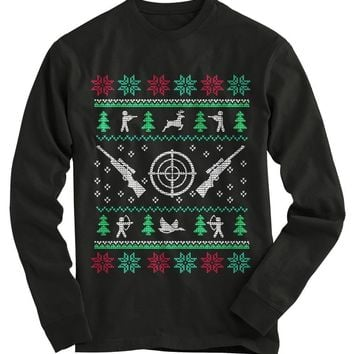Hunting Ugly Christmas Sweater