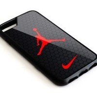 Best Rare Jordan Air Hexagon for iPhone 6 6s 7 8 Plus Hard Plastic Case Cover